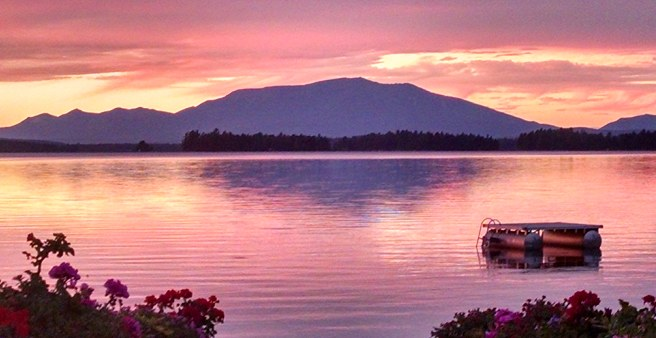 Enjoy Mt Katahdin at Sunset