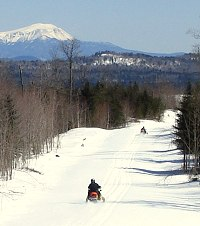 Maine's only bed and breakfast with stunning Katahdin view