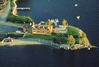 Waterfront bed and breakfast in Millinocket, Maine, with private beach on South Twin Lake