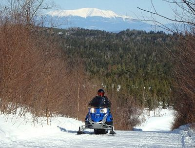 Snowmobile trail groomer of the year - Rick Levasseur