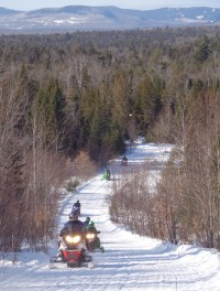 Scenic Snowmobile trails