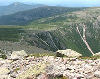 Saddle Trail - view of Saddle and Northwest Plateau